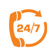 24*7 Service Support