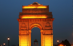 India Gate War Memorial of the 1919 Afghan war