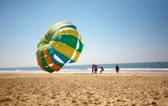 Enjoy at Goa Beach