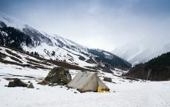 Camping at Leh