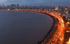 The Marine drive – Mumbai