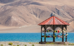 Pangong Tso An endorheic lake in the Himalayas